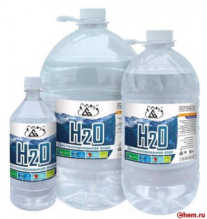 Свойства дистиллированной воды