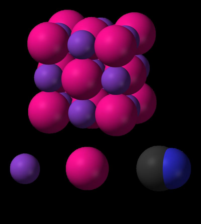 картинки цианистого калия программного материала изложено